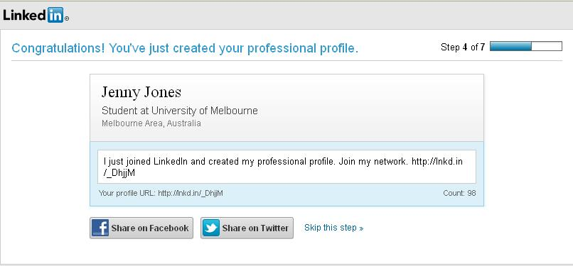 how to add work experience to linkedin profile